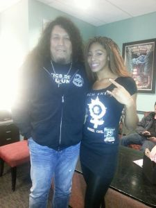 Chena with Chuck Billy